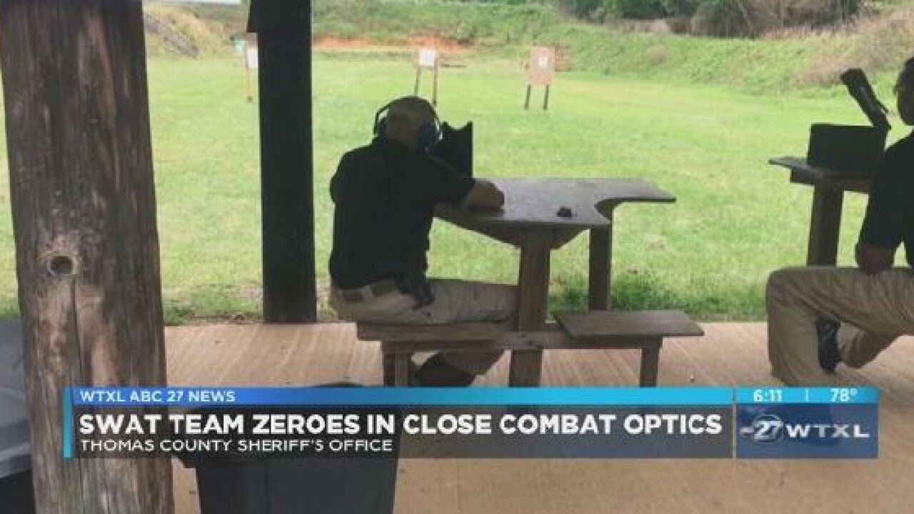Thomas County deputies focus on close combat optics during