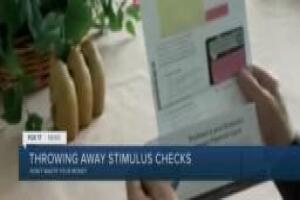 Your stimulus check could look like junk mail