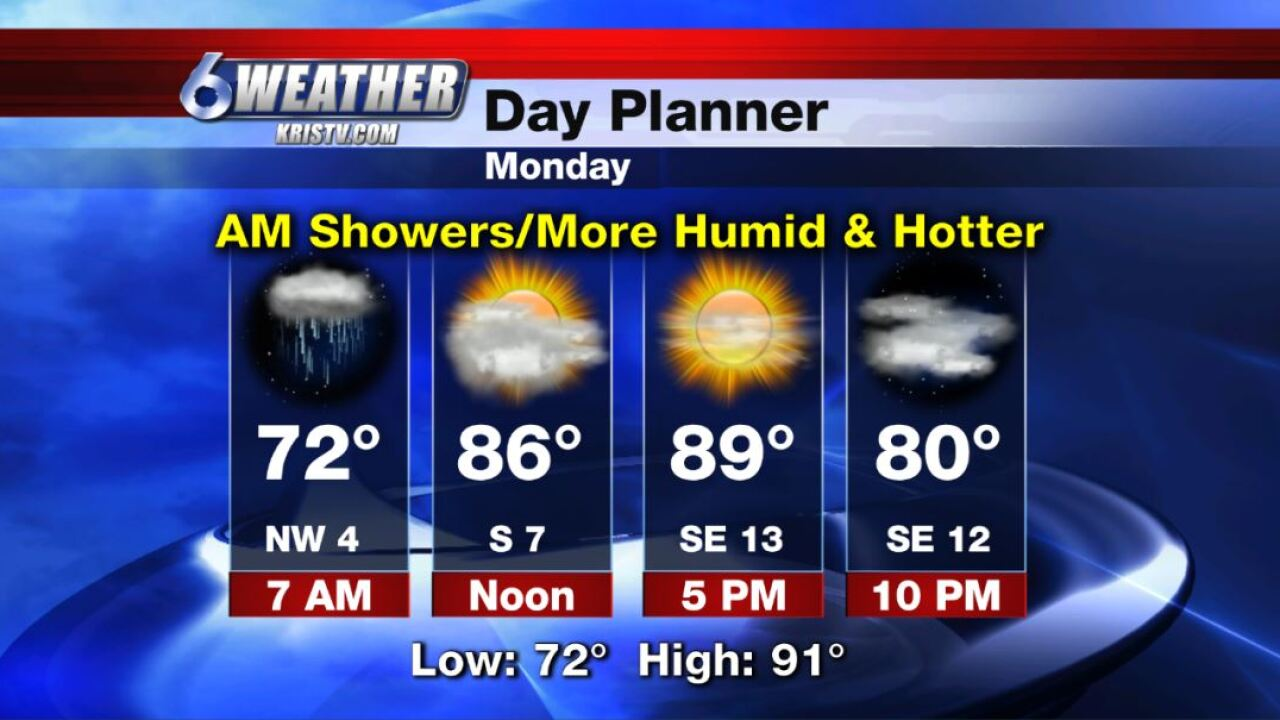 6WEATHER Day Planner for Monday 10-14-19.JPG