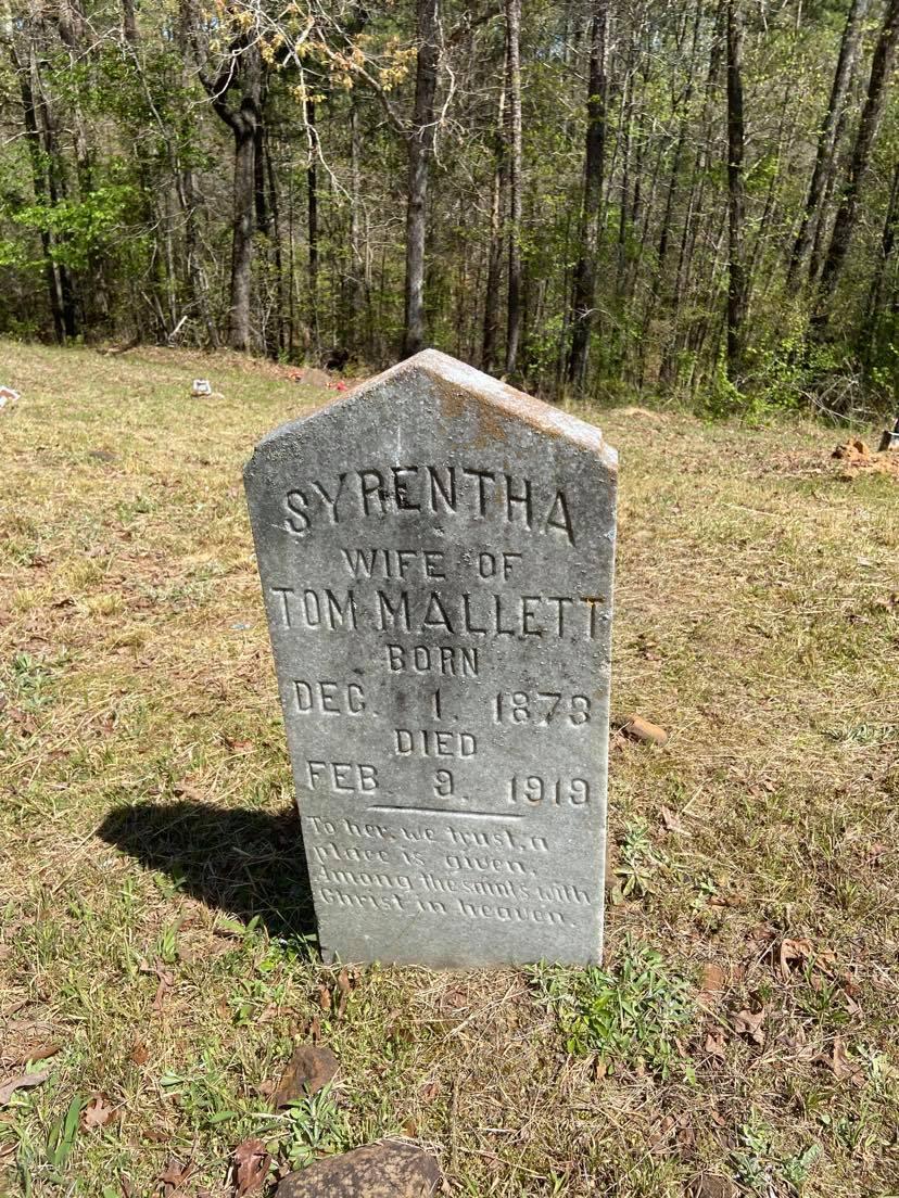Angela Mallet's oldest known relative