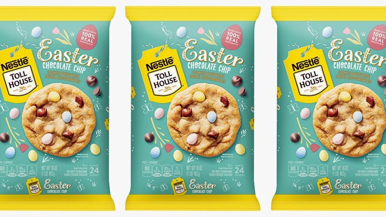Easter-themed cookies hitting the shelves ahead of spring season