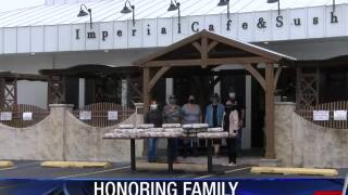 Imperial Cafe owner honors late father with free food to the public
