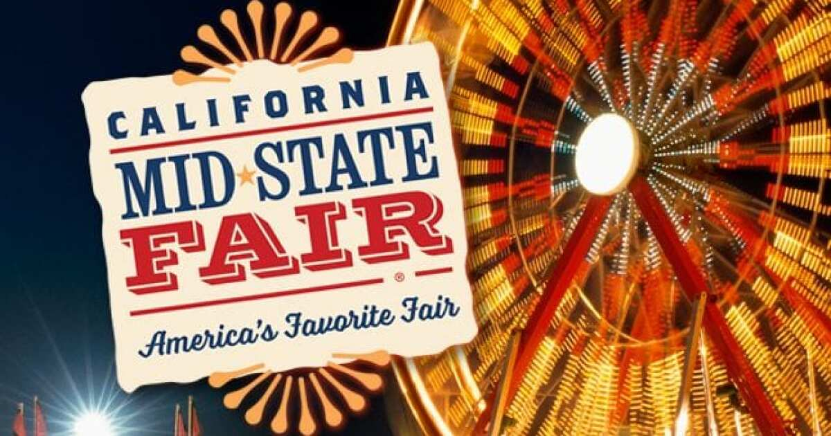 Paso Robles Mid State Fair 2020.Mid State Fair Announces Headliners For 2019 Concerts