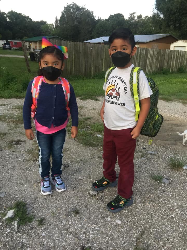 1st and 3rd grade in masks - Lourdes Villegas.jpg