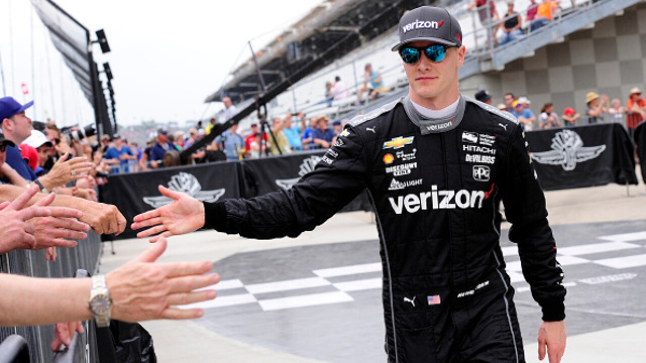 Newgarden sticks to Penske plan as others grab spotlight