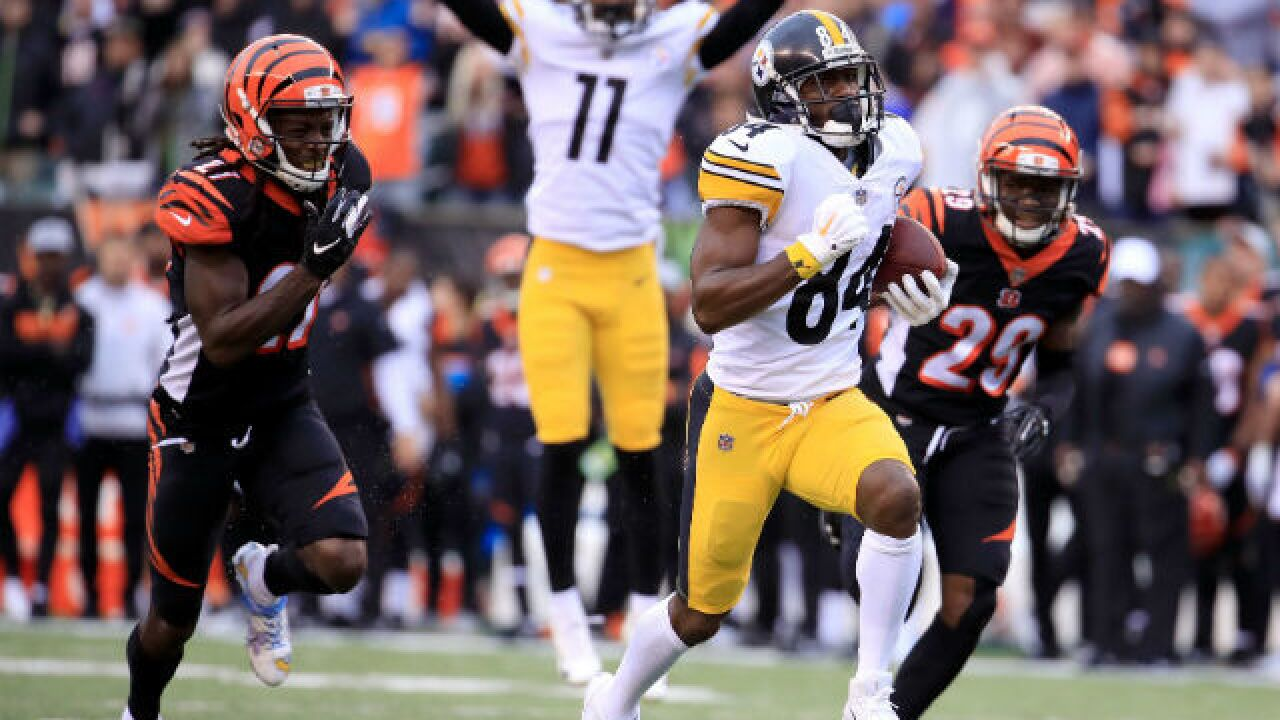 d939ce75 Did Bengals mismanage clock? Did Steelers use illegal pick on winning play?
