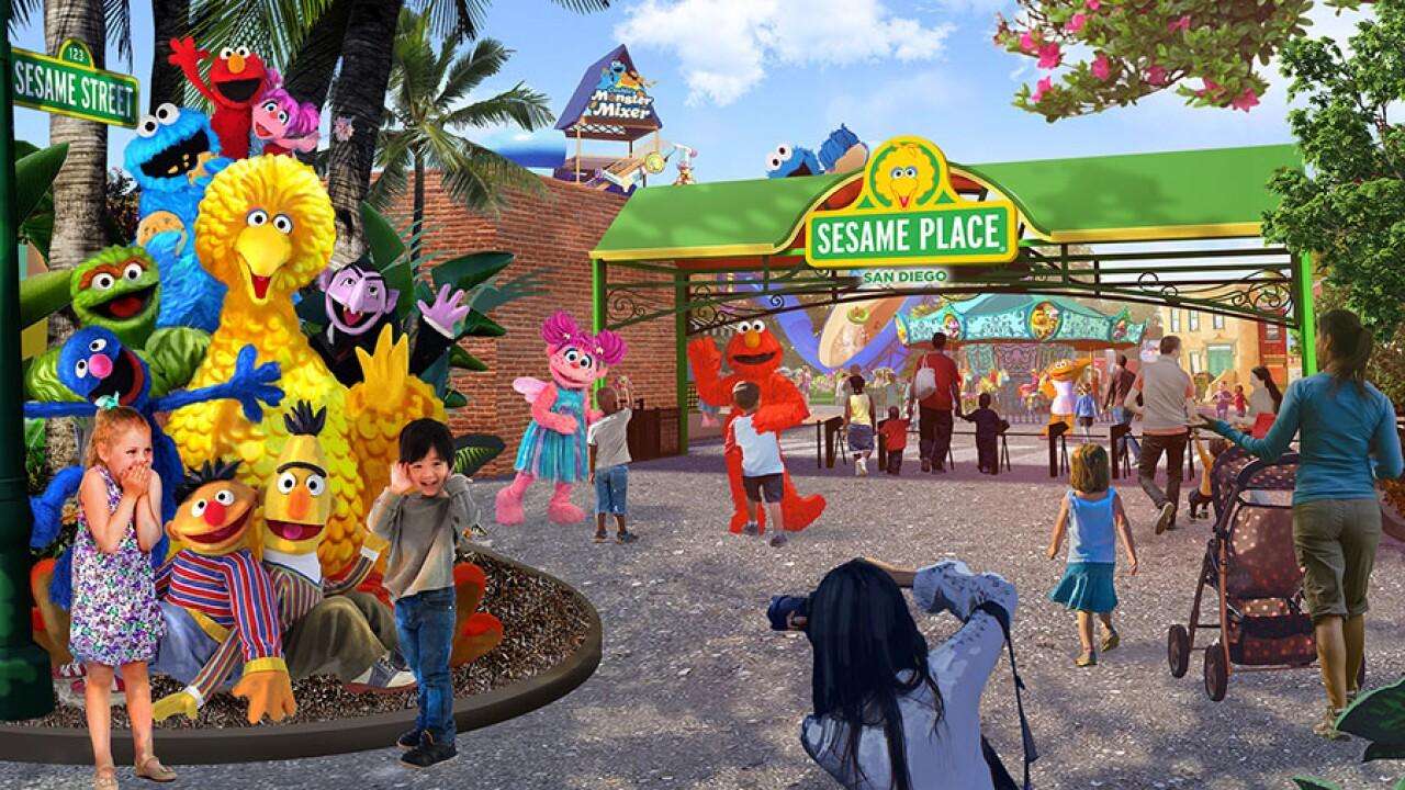 SeaWorld to open 'Sesame Street' theme park in California