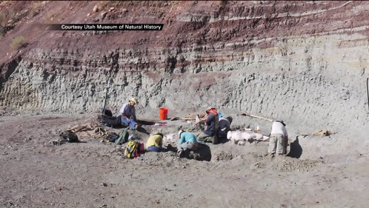 Researchers examine what made Utah a popular home for dinosaurs during Triassicperiod