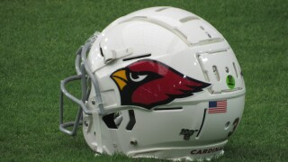 KNXV Arizona Cardinals helmet