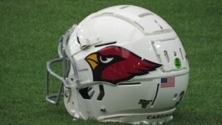 KNXV Arizona Cardinals helmet