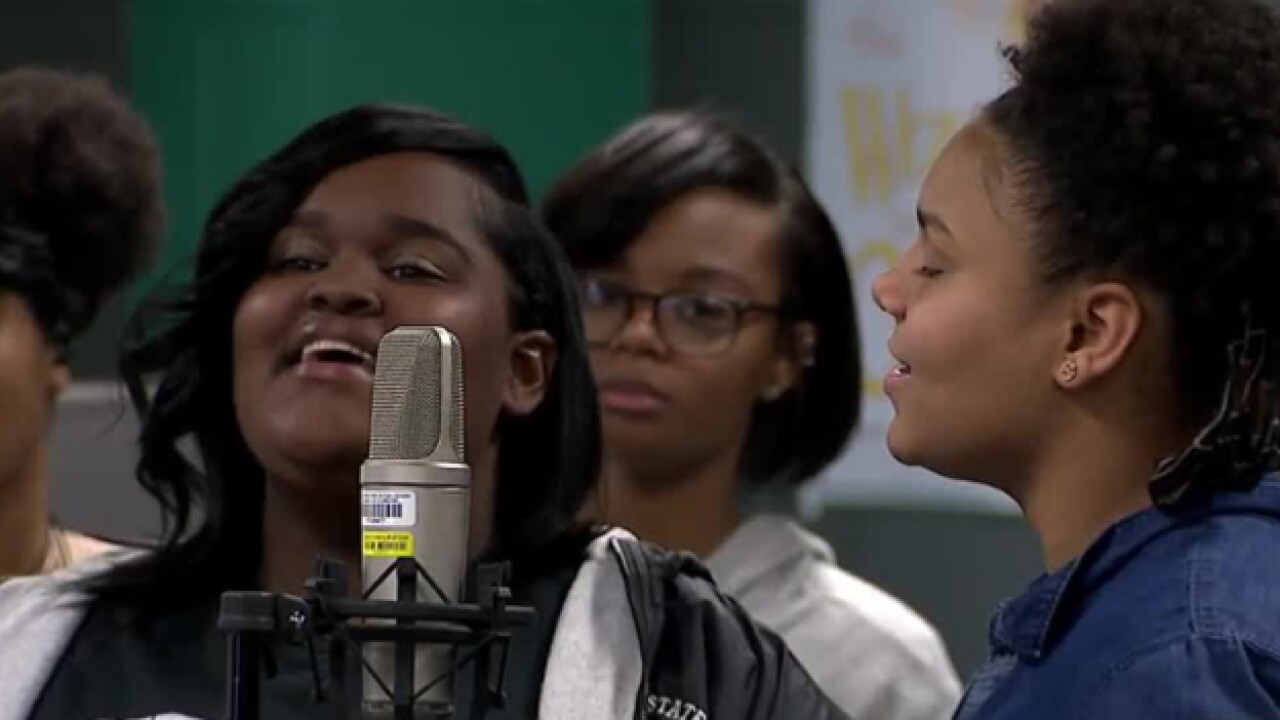 Students Celebrate Black History Month With Song