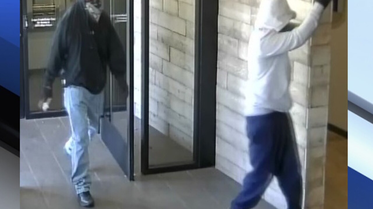 PD: Suspect sought after Phoenix bank robbery
