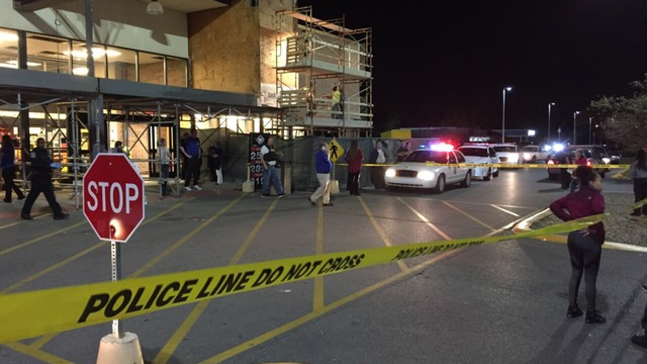 Shots fired at Kroger on Indy's south side