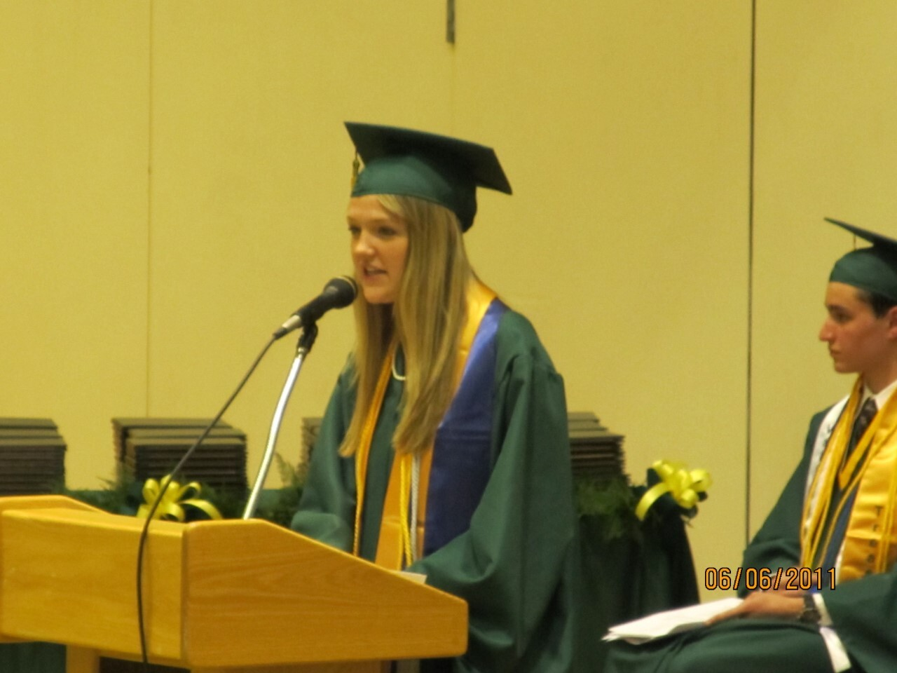 Tessa DiTirro High School Graduation Pic