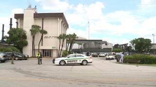 Sugar Cane Growers Cooperative of Florida shooting scene, June 4, 2021