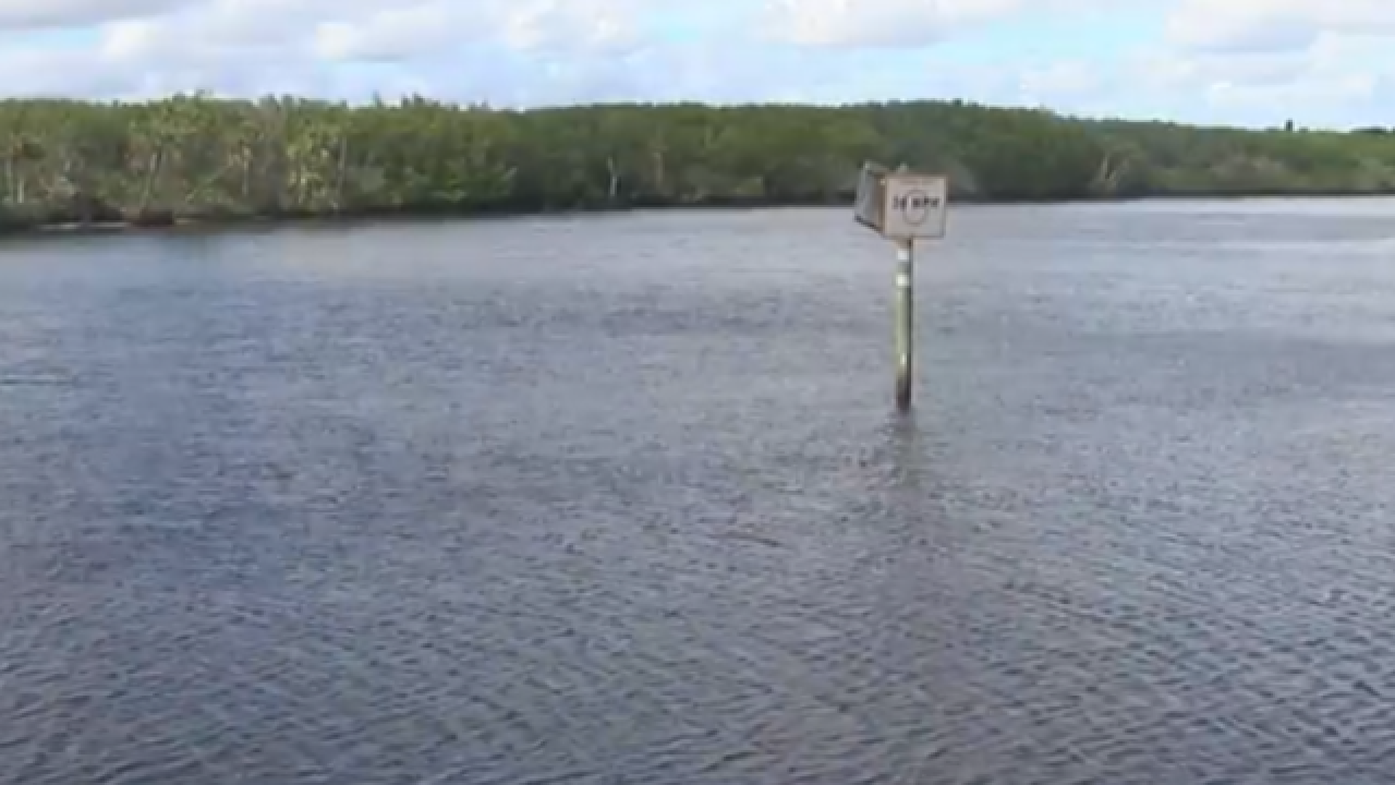 Tracking the source of pollutants in the St. Lucie River