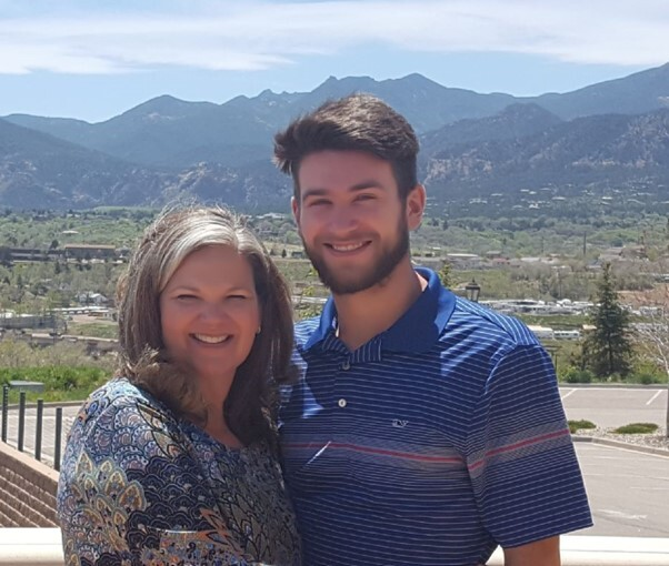 Kristen Christy and her son Ben
