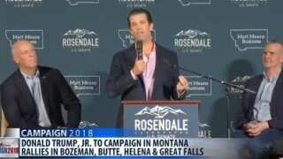 Donald Trump, Jr. to campaign in Montana