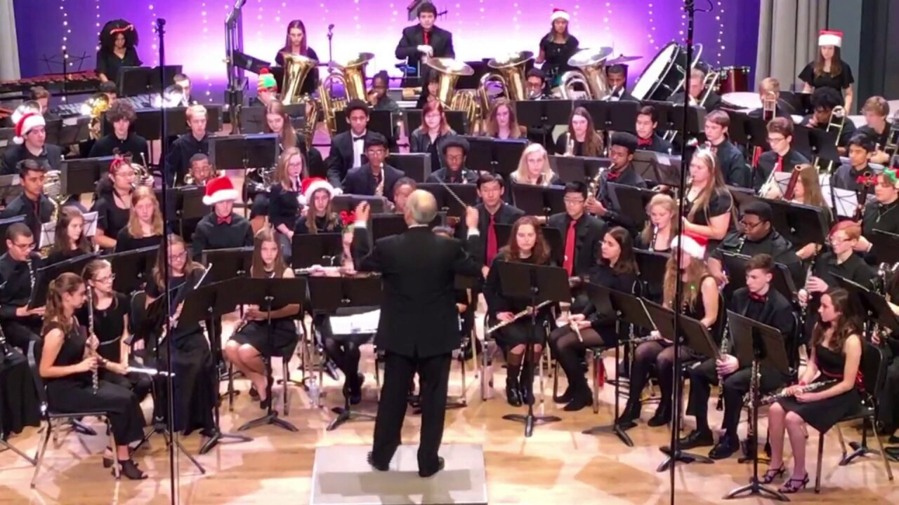 🎼Central Virginia Wind Symphony Holiday Spectacular to be broadcast onChristmas