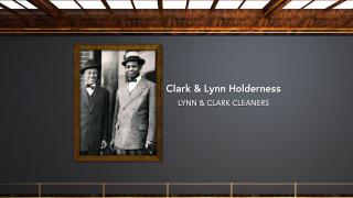 Clark and Lynn Holderness