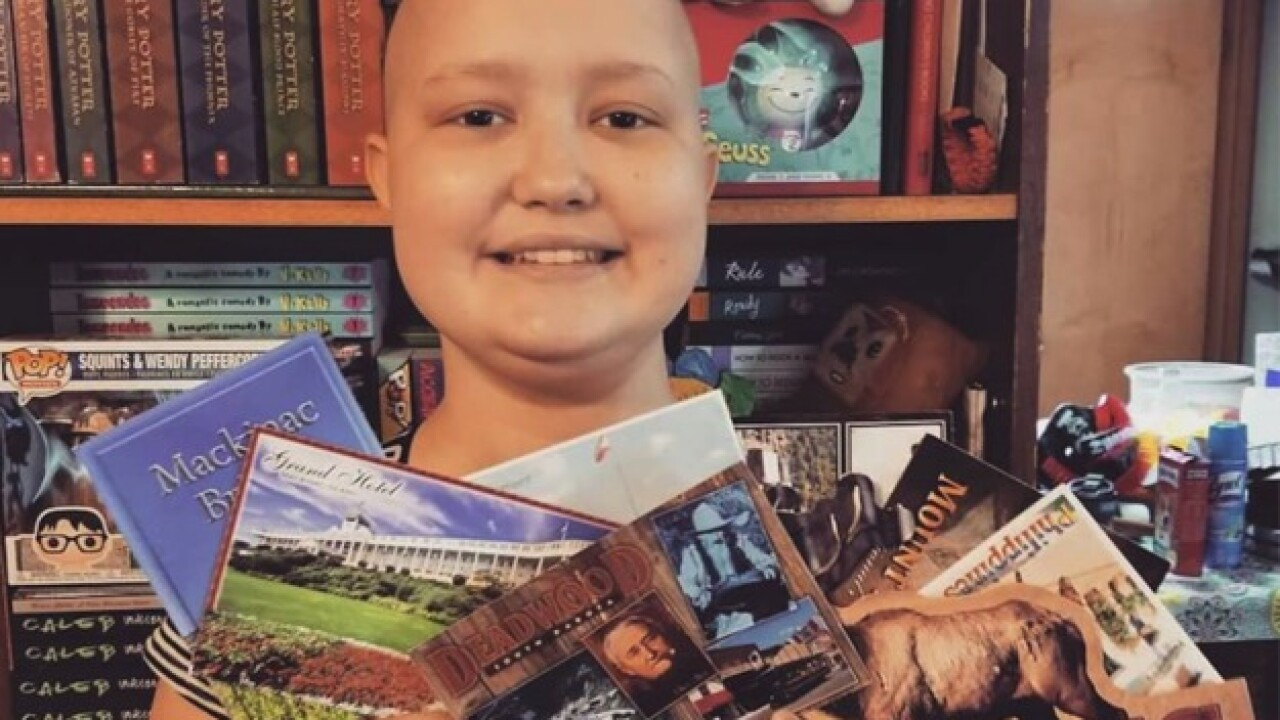 Girl, 12, battling cancer asks for postcards from around the world for her birthday