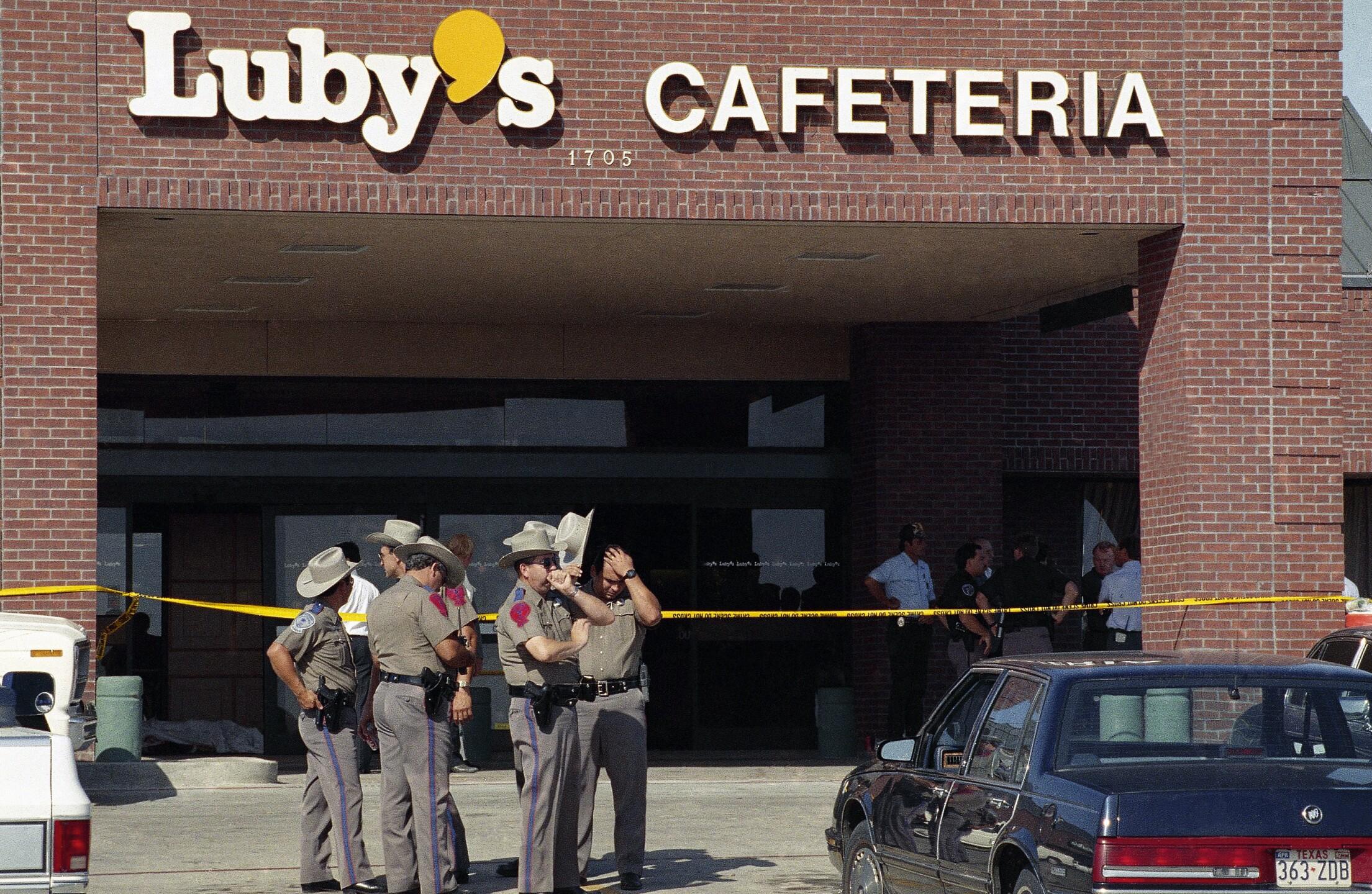 Exchange Church Shooting Luby's Massacre