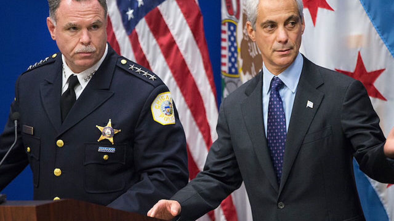 Top Chicago cop fired by Mayor Rahm Emanuel to run for mayor