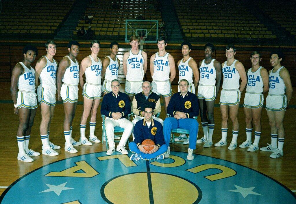 UCLA Basketball Team 1972