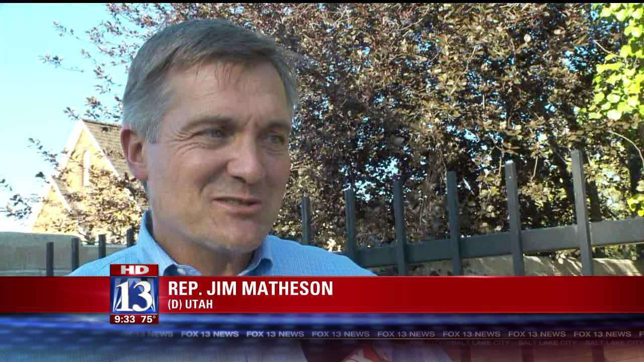 Rep. Jim Matheson stays home from DNC to campaign