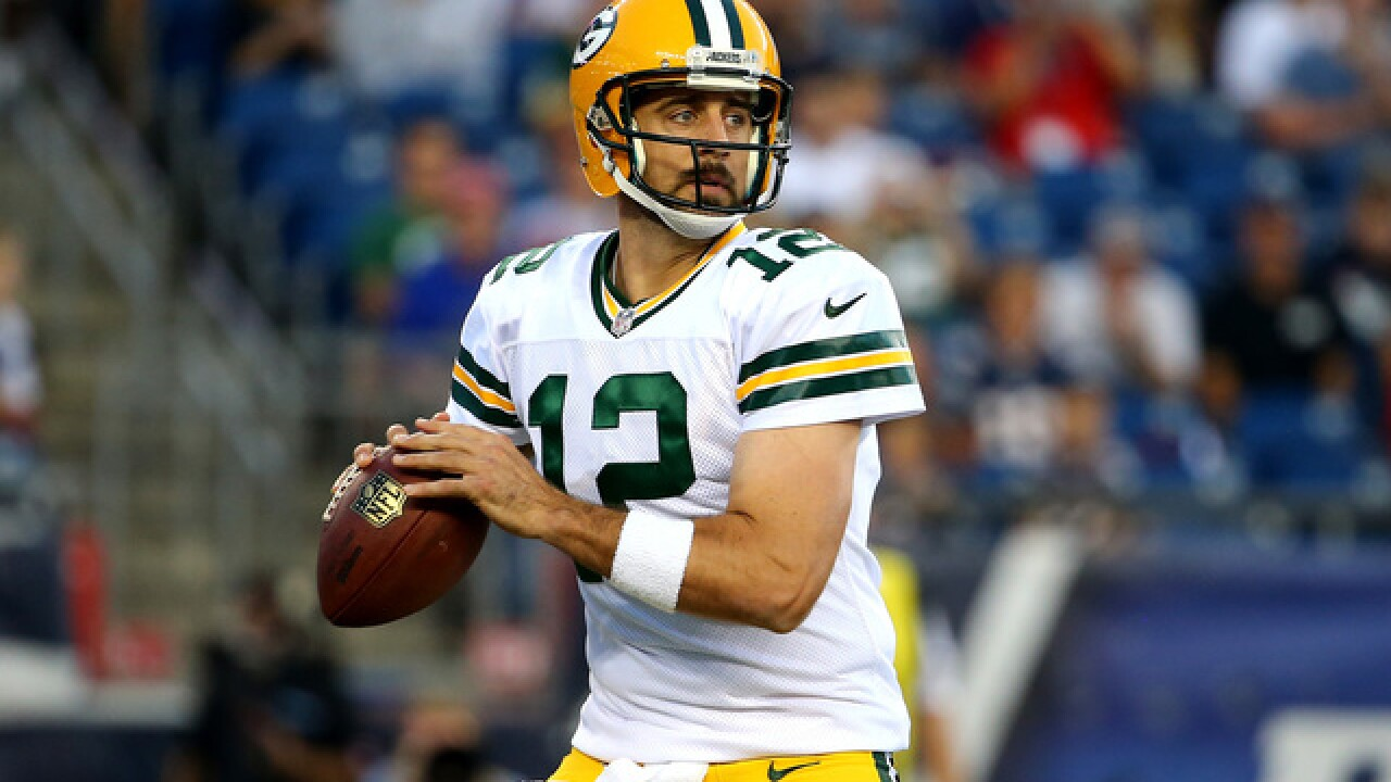 Packers activate Aaron Rodgers from injured reserve
