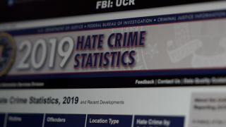 Reported hate crimes are up, FBI stats show