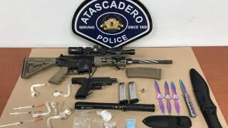 Drug, weapons arrest .JPG