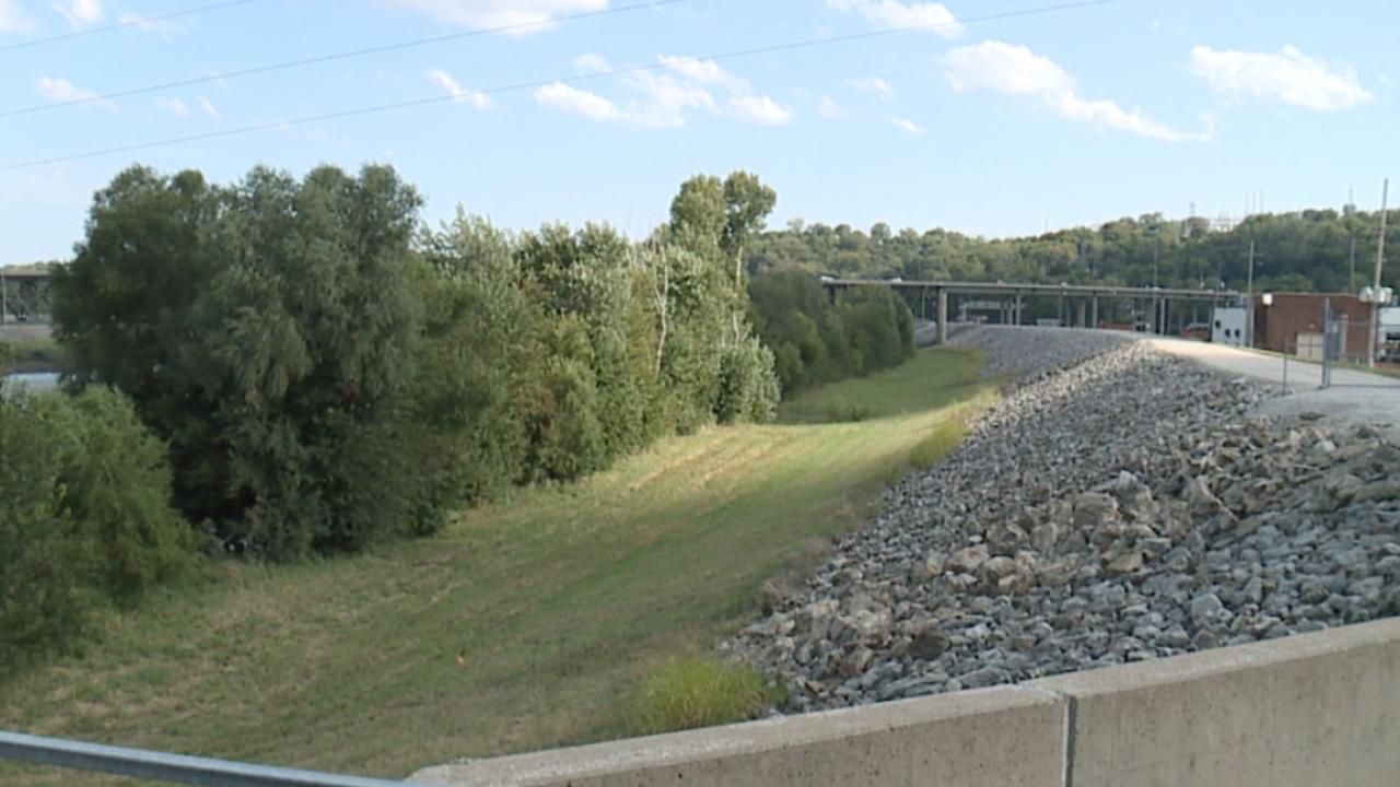Kansas River levee system