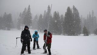 California snowpack