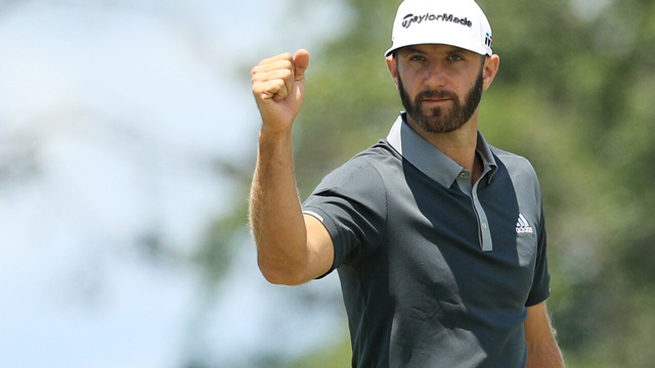 Dustin Johnson takes 4-shot lead into weekend at US Open