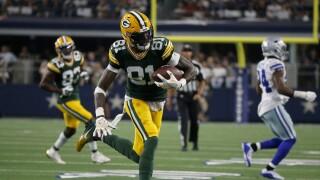 Geronimo Allison Packers Cowboys Football