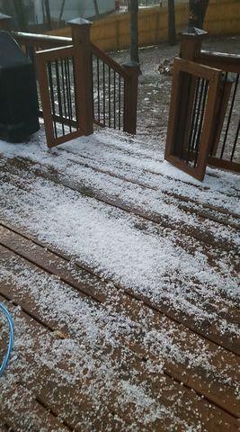 PHOTOS: Hail, thunderstorms hit KC metro area