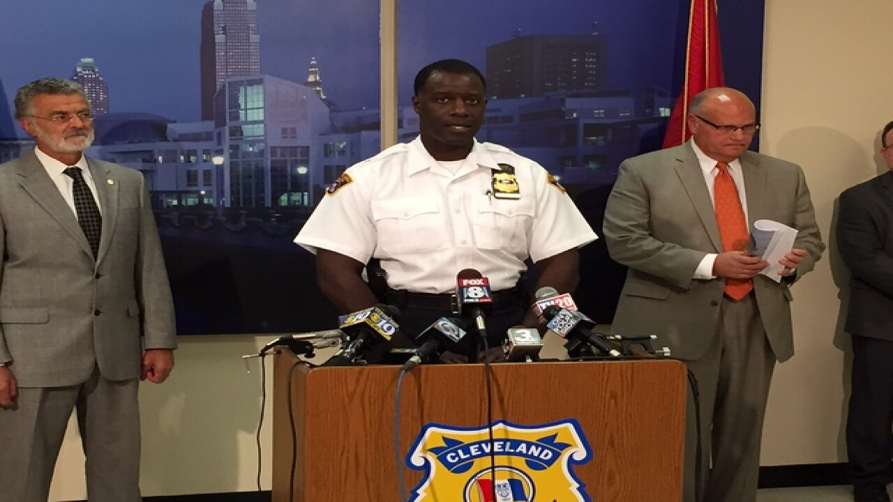 Mayor & police chief discuss CLE shootings