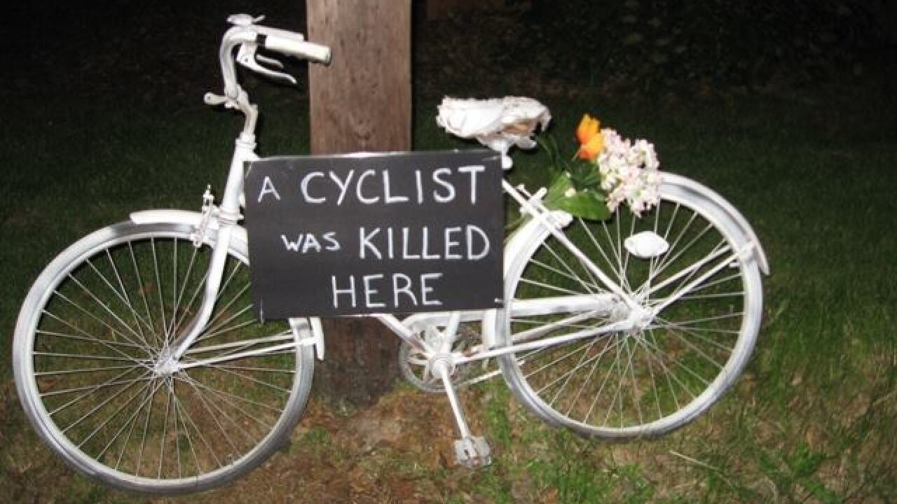 Ride of Silence pays tribute to cyclists killed
