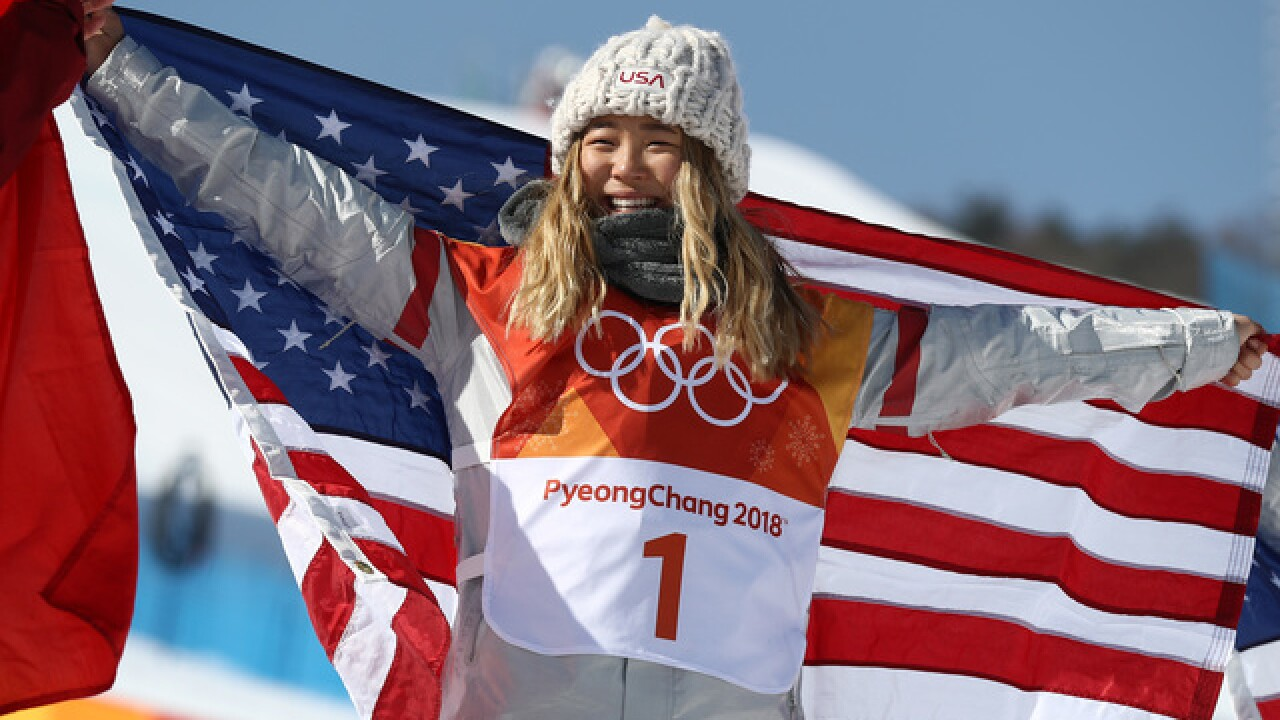 Chloe Kim accomplishes father's American dream
