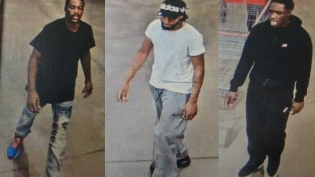 Men wanted for attempted theft at Costco