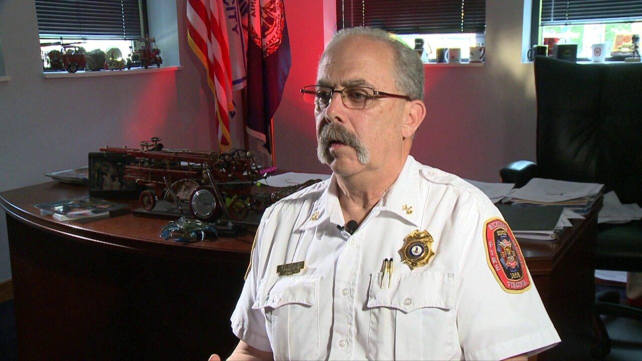 Family, friends remember Richmond fire marshal DavidCreasy