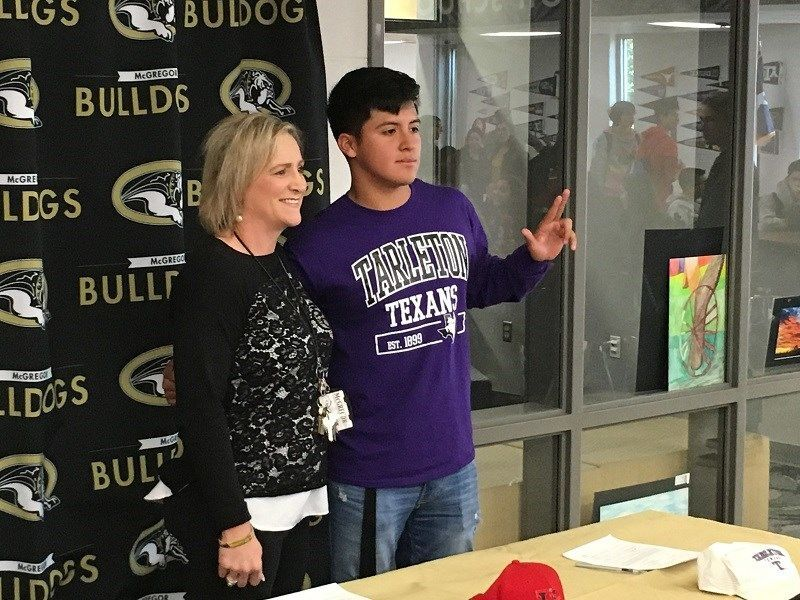 McGregor High School Signing Day 2018