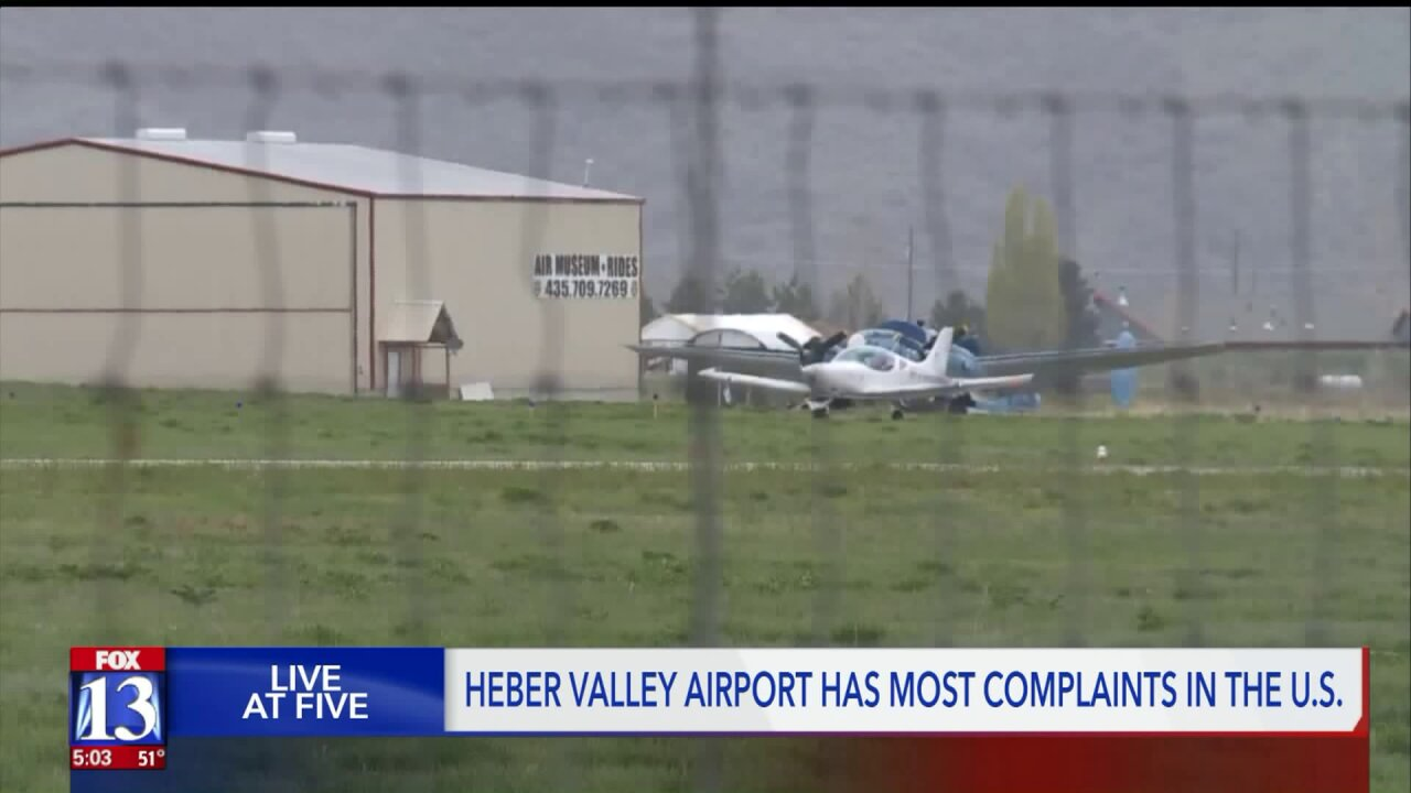 Heber Valley Airport, which has most complaints in the country, could lose millions in FAA grants