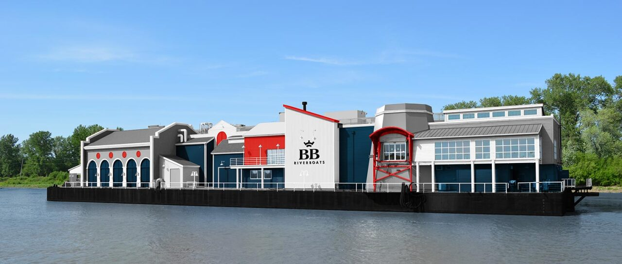 First Look Bb Riverboats Transforms Old Casino Barge Into