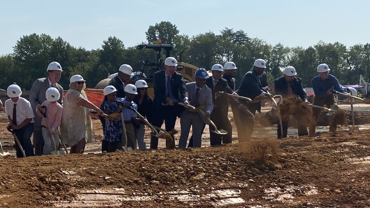 Baltimore County celebrates official ground breaking of Northeastern Elementary School