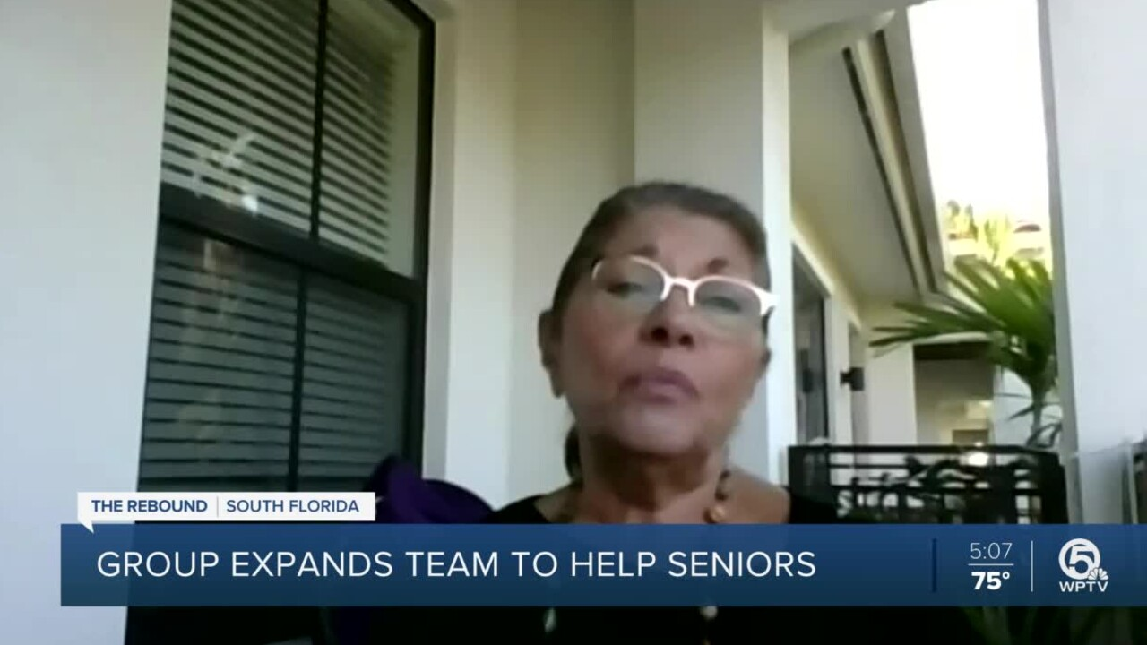 Palm Beach County resident Linda Orlick talks to WPTV about difficulty of getting COVID-19 vaccine appointment.jpg