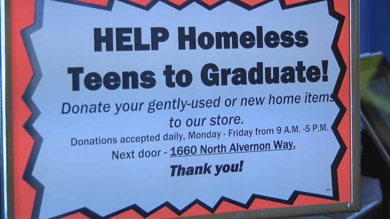Paid intenships for homeless, at-risk teens