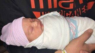 West Boca Medical Center 1st baby of 2021