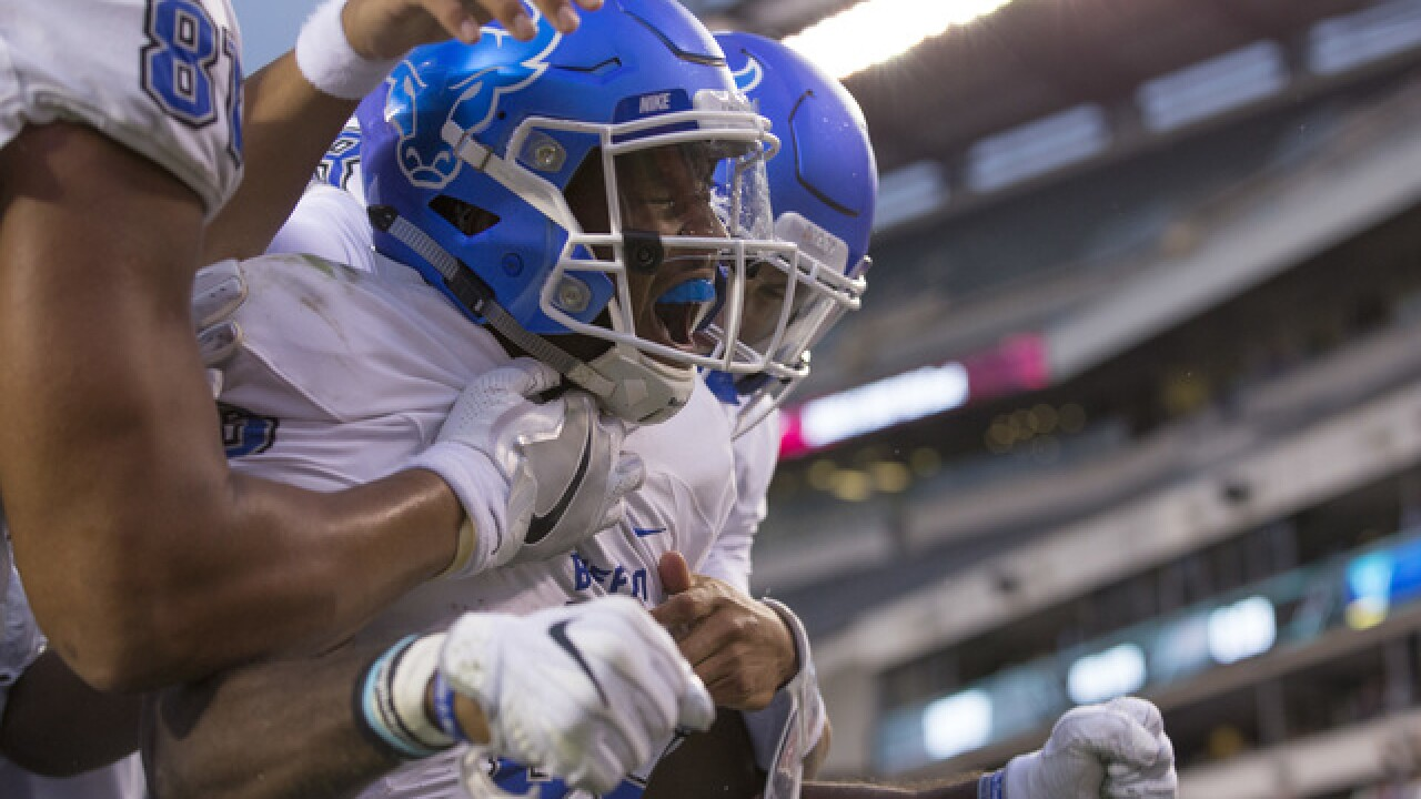 UB beats Temple 36-29, starts 2-0 for first time as FBS program
